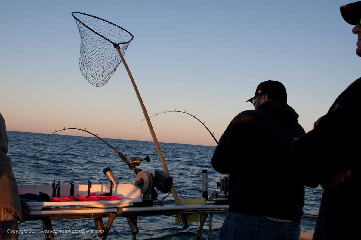 Fishing Trips On Lake Michigan