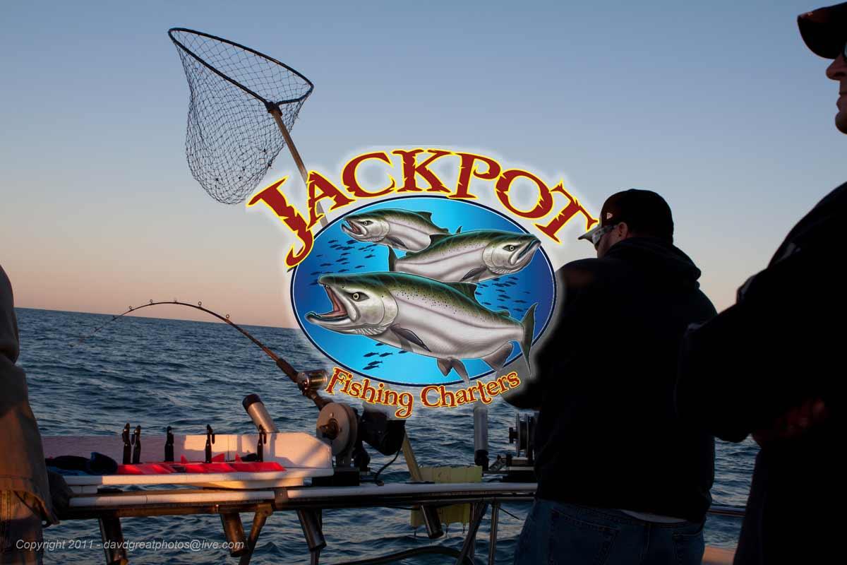 Jackpot fishing lake michigan salmon fishing charters for Fishing in chicago